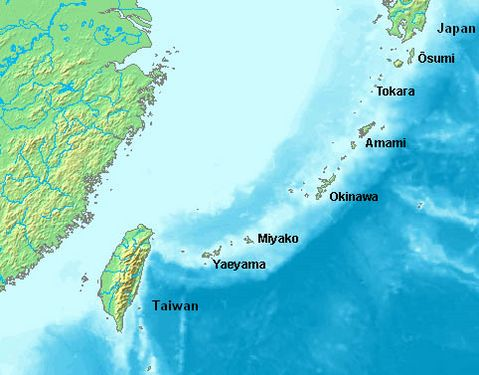 Les îles Ryukyu